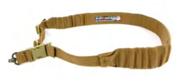 Blue Force Gear Push Button Padded Bungee Sling Coyote Brown UDC-200-BG-PB-CB