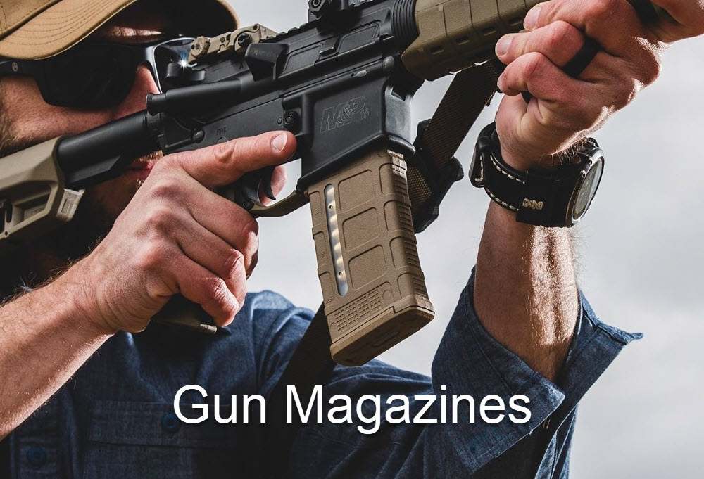 Gun Magazines and PMAGs