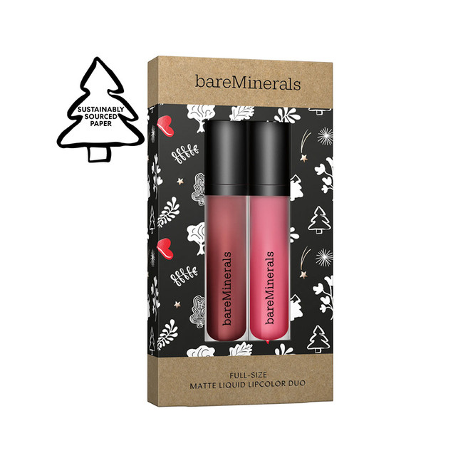 bareMinerals Matte Liquid Lipcolor Duo