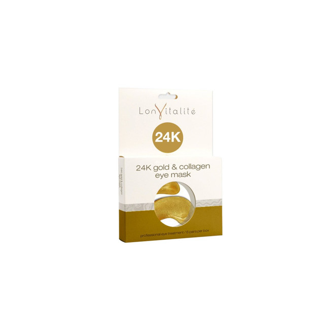 Lonvitalite 24K Gold & Collagen Eye Masks