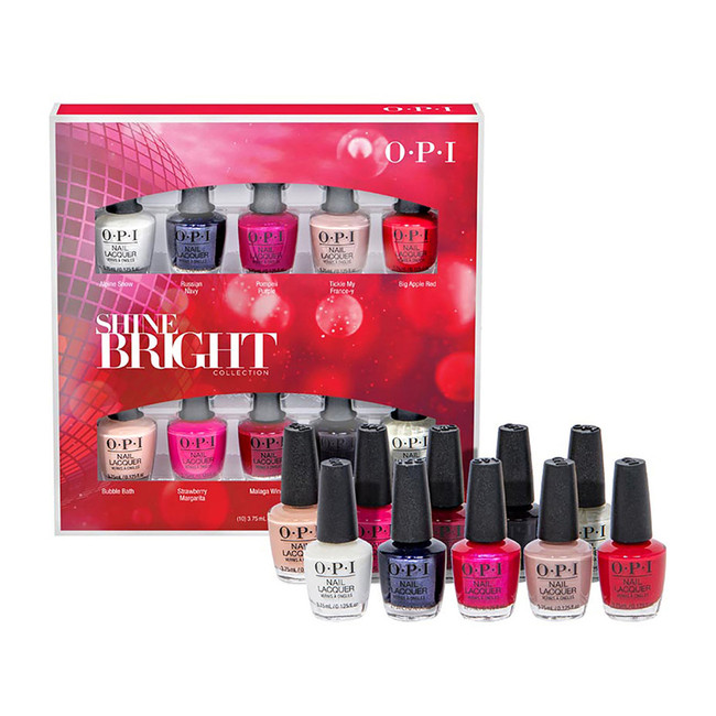 OPI Shine Bright Collection 10 pc.