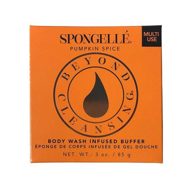 Spongelle Pumpkin Spice Body Wash Buffer (Boxed)
