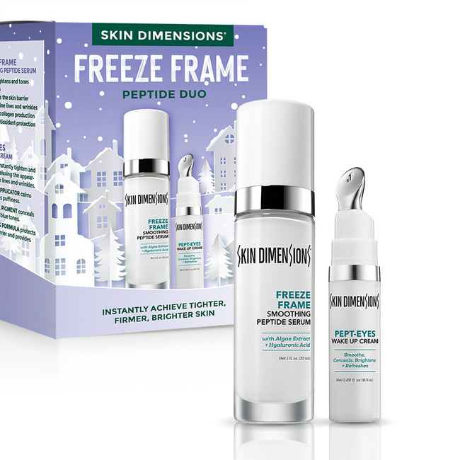 Skin Dimensions Freeze Frame Peptide Duo