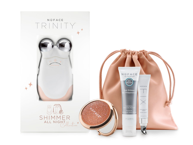Nuface Shimmer All Night Trinity Pro Kit