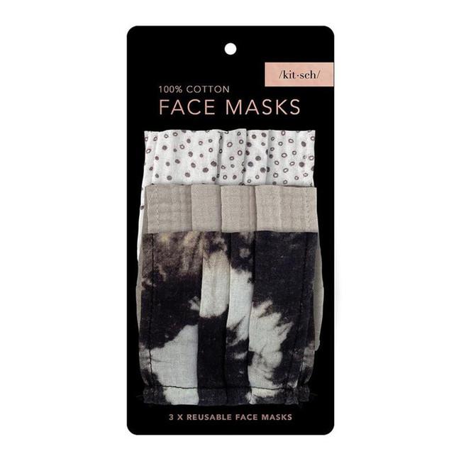 Kitsch Cotton Face Mask Set