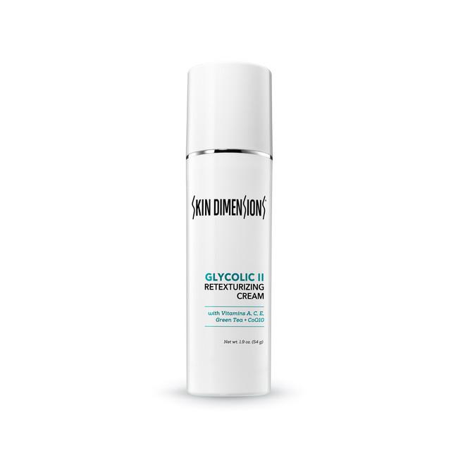 Skin Dimensions Glycolic Retexturizing Cream II