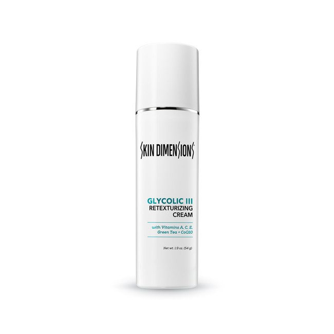 Skin DImensions Glycolic Retexturizing Cream III
