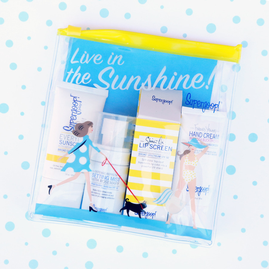 Supergoop! Live in the Sunshine Value Kit