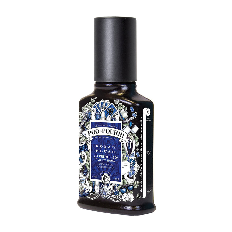 Poo-Pourri Royal Flush Before-You-Go Toilet Spray 4 oz.