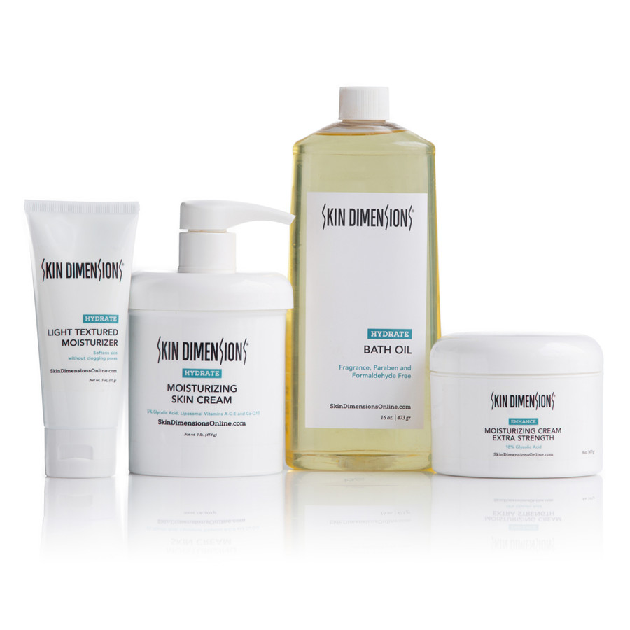 Skin Dimensions Dry Skin Extra Strength Kit