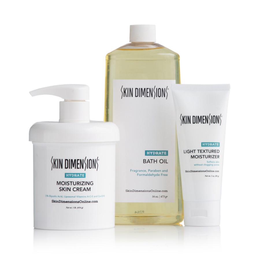 Skin Dimensions Dry Skin Kit