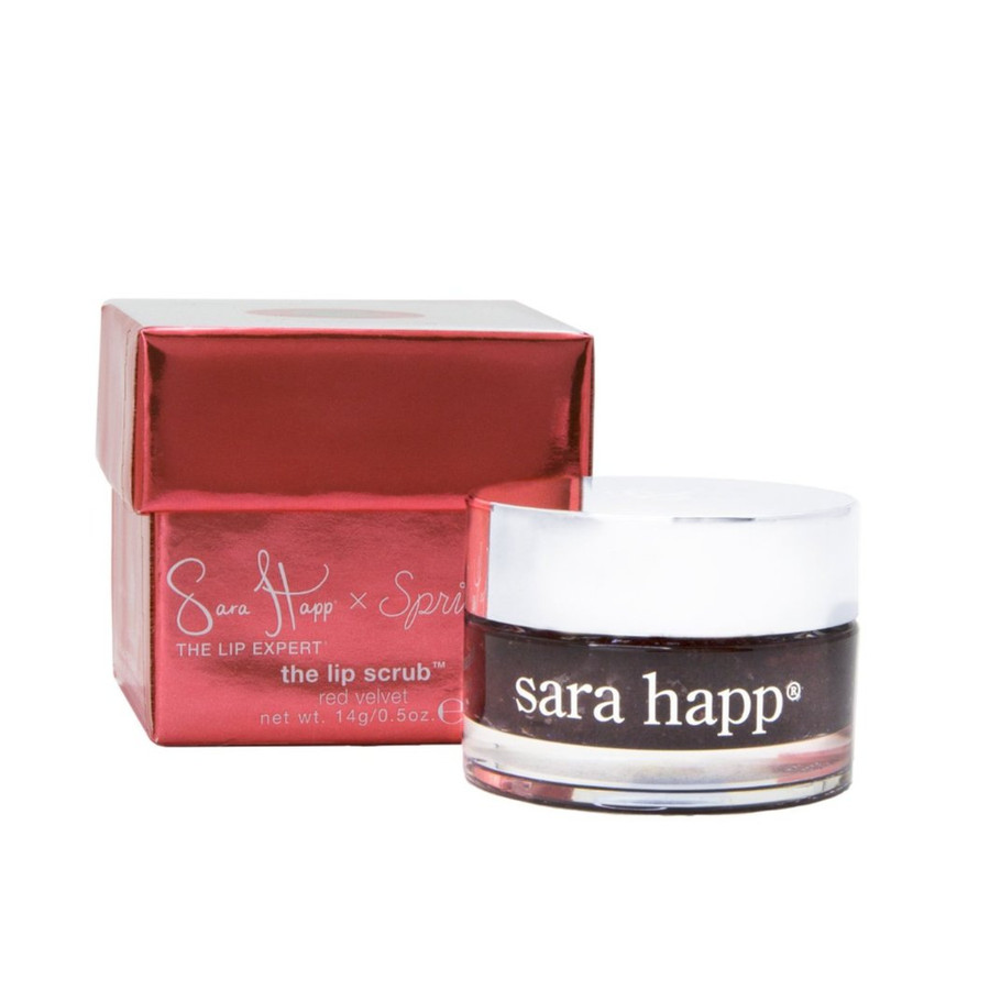 The Lip Scrub by Sara Happ - Sprinkles Red Velvet