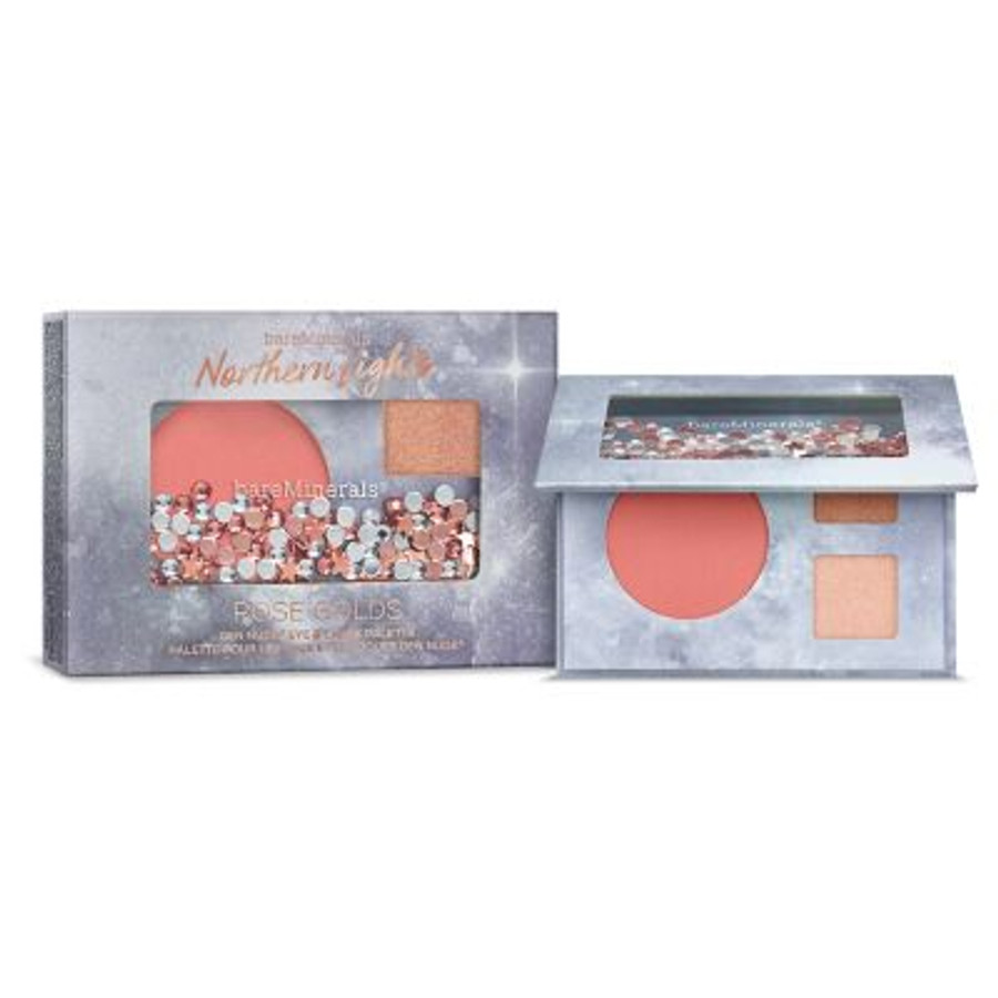 bareMinerals Northern Lights Rose Golds Eye and Cheek Palette