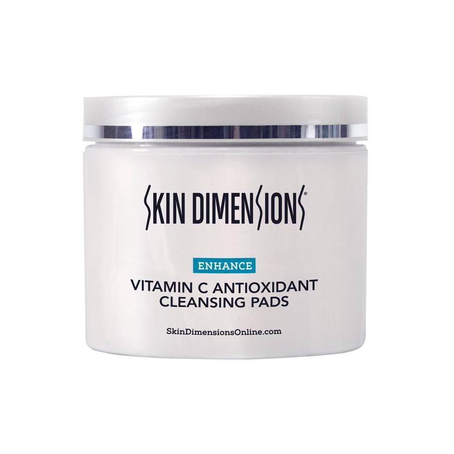 Skin Dimensions Vitamin C Antioxidant Cleansing Pads