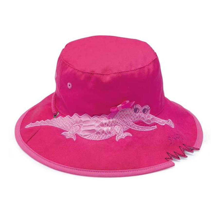 Wallaroo Hat Kids Pink Crocodile