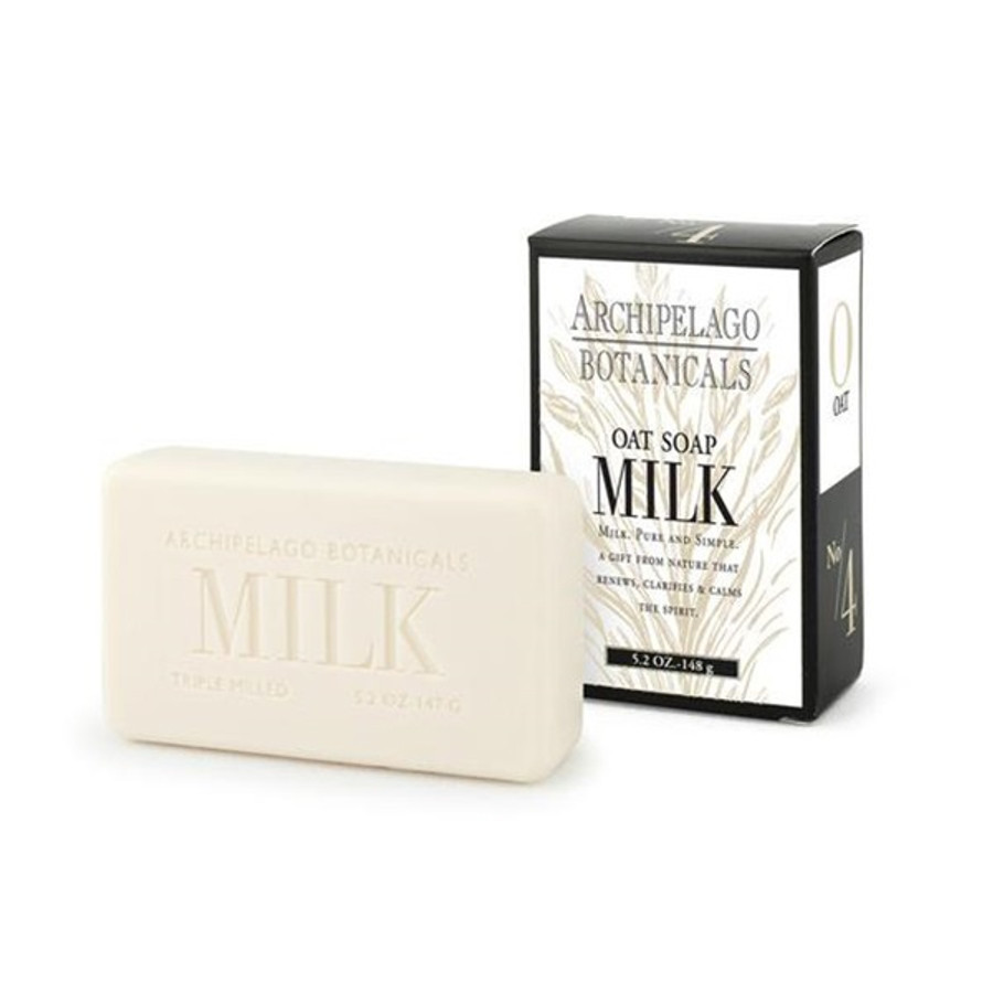 Archipelago Botanicals Oat Milk Bar Soap