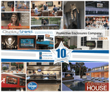 PEC is Excited to Celebrate 10 Years of Innovative Outdoor TV Enclosures and Digital Display Protection
