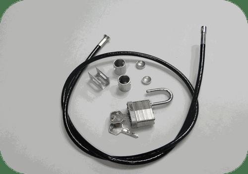 Outdoor TV Enclosure Security Lock Kit