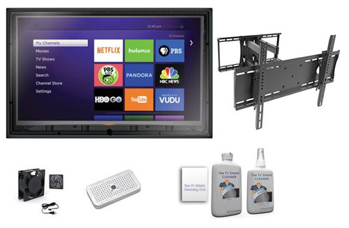 44-50 Inch Outdoor Enclosure Full Motion Mount Ultimate Kit-The TV Shield