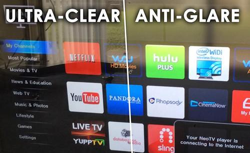 52-55 Inch Anti-Glare Front Shield for The TV Shield
