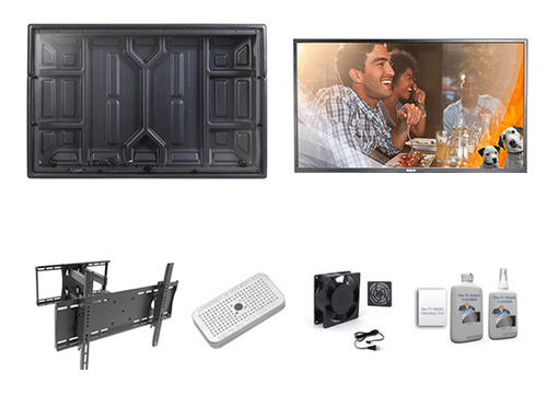 43 Inch RCA TV and Outdoor TV Enclosure Ultimate Kit-The TV Shield