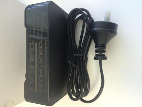 230V (International) Heater- Integrated Thermostatic Control - Black