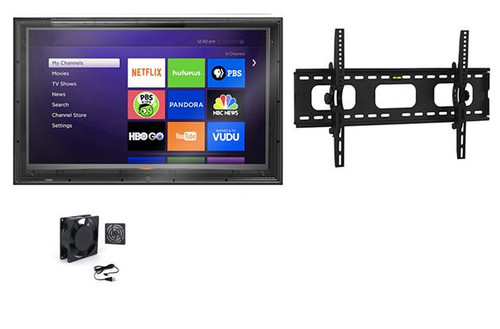 52-55 Inch Outdoor TV Enclosure with Tilt Mount and Fan -The TV Shield