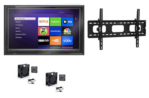 60-65 Inch Outdoor TV Enclosure with Tilt Mount and Fans-The TV Shield