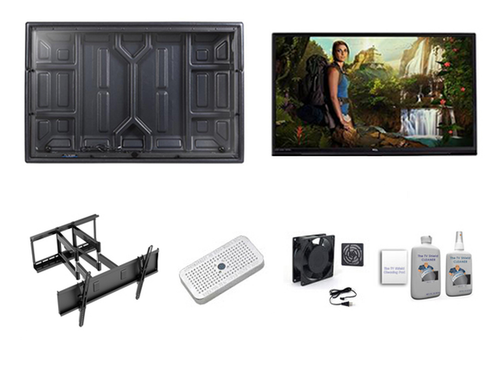 """43"""" TCL TV and Outdoor TV Enclosure Ultimate Kit - The TV Shield"""