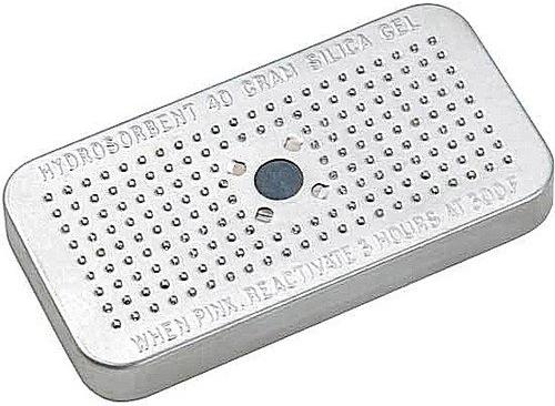 Dehumidifying moisture control gel case
