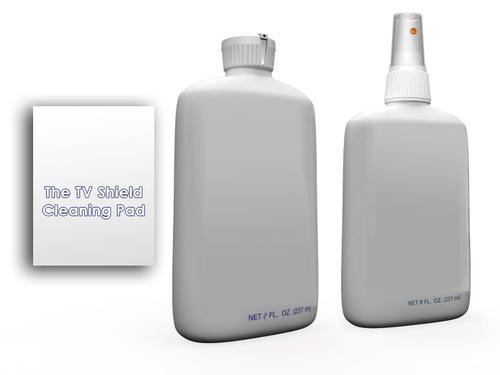 The TV Shield Cleaner & Polish Kit