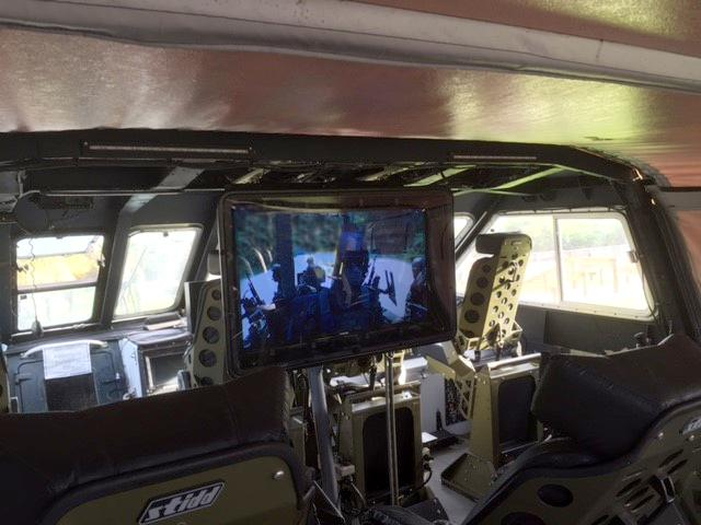 Outdoor TV Enclosure solution used by The National Navy Seals Museum