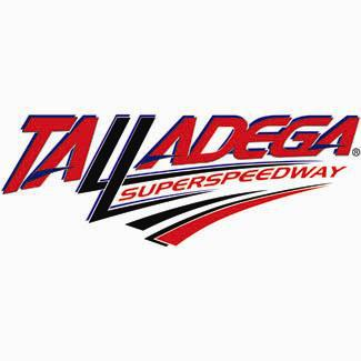 talladega speedway race car track signs