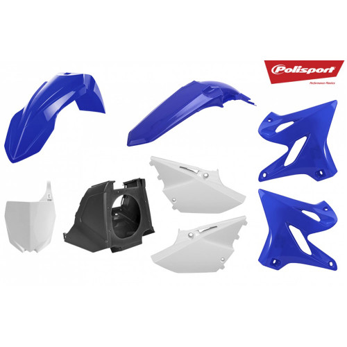 (NEW) POLISPORT MX RESTYLING KIT YAM YZ125/250 02-17 OEM