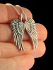 Guardian Angel Wing Pendant - Silver