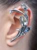 Venus Flytrap Ear Wrap Silver