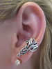 Arabesque Ear Cuff - Silver