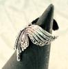Butterfly Ear Cuff - Silver