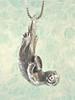 Sea Life - Sea Otter Pendant - Silver