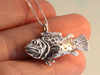 Sea Life - Potato Cod Grouper Bass Fish Charm
