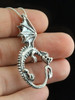 Oracle Dragon Pendant - Silver