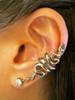 Bronze Snake Ear Cuff