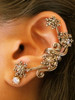 Starburst Ear Cuff - Bronze