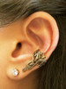Arabesque Ear Cuff in Bronze