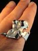 Henrietta Hippo Ring With Garnets