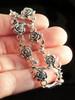 Rose Bracelet in Silver