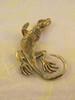 Iguana Ear Cuff - Bronze