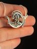 Rip Curl Wave Pendant - Silver