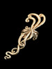 Siren's Song Ear Cuff in Bronze