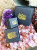 All Marty Magic Jewelry is packaged in a beautiful box, embossed with our gold foil  dragon logo